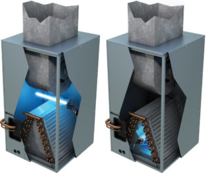 Blue-Tube UV Germicidal Light Preferred Heating & Air, Inc.