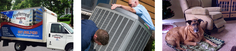 Preferred Heating & Air, Inc. Duct Cleaning