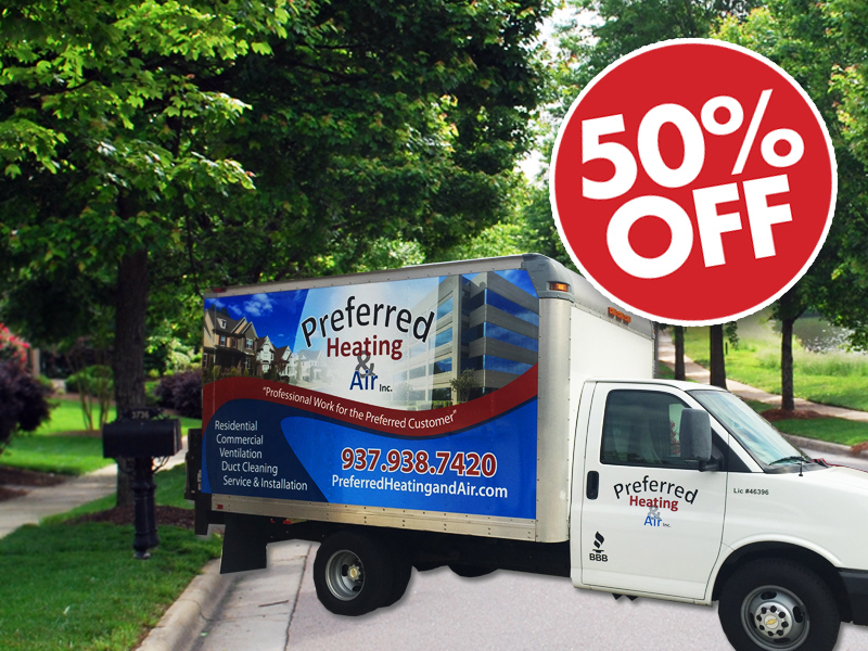 Preferred Heating & Air, Inc. Special Offer